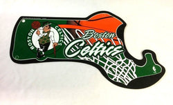 NBA Boston Celtics Plastic Diecut State Sign 12x14 Garden Causeway FREESHIP