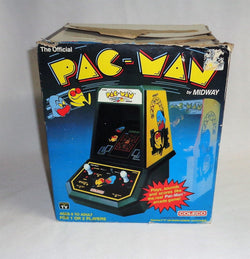Vintage Coleco Pac-Man Pacman Table Top Mini Arcade Video Game Boxed Working