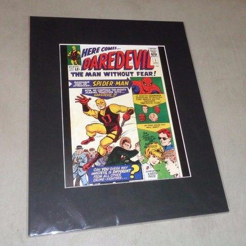1964 Marvel Comics Daredevil #1 Premier Matted Picture Poster 16x20 FREESHIP
