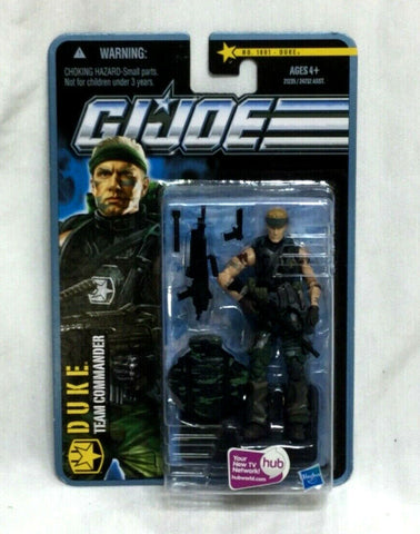 2010 GI Joe Duke Figure Team Commander Pursuit Cobra Jungle #1001 Sealed NEW
