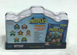Mighty Meeples DC Comics Super Friends Hall of Justice Collection Tin Set Sealed