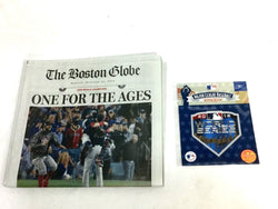 Boston Red Sox 2018 World Series Champions Boston Globe Newspaper & Patch Lot