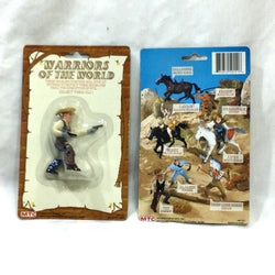 1983 MTC Multi Toy Warriors of the World Figure Cowboy Tex MOC Carded Sealed