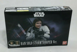 NEW Bandai Star Wars Han Solo StormTrooper Plastic Model Kit Sealed 1:12 Scale