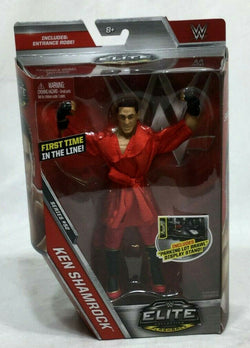 Mattel WWE Elite Collection Series 52 Ken Shamrock Figure Sealed Boxed FREESHIP