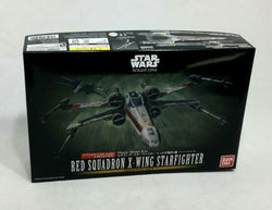 NEW Bandai Star Wars Rogue One X-Wing Red Squadron Plastic Model Kit Sealed Set