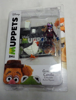 Diamond Select Disney The Muppets Gonzo and Camilla Figure MOC Sealed