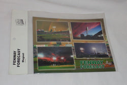 New Boston Globe Red Sox Fenway Park Weather Flat Logo Magnet Set 5x7 FREESHIP