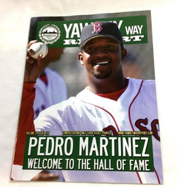 July 2015 Yawkey Way Report Red Sox Program HOF Pedro Martinez Retirement Nite