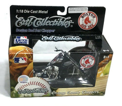 Ertl Fenway Boston Red Sox OCC Orange County Choppers Motorcycle 1:18 Boxed New