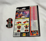 1984 Vintage G1 Transformers Windcharger Complete Cardback Uncut FREESHIP