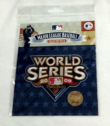 2009 World Series Jersey Patch Philadelphia Phillies New York Yankees FREESP