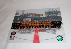 2010 Winter Classic Fenway Park Boston Bruins Team Picture Photo 8x10 FREESP