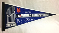 2015 World Series Duel Pennant Kansas City Royals New York Mets (1A) FREESHIP