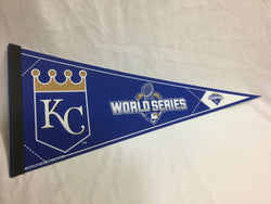 2015 World Series American League Champions Kansas City Royals Pennant (1B)