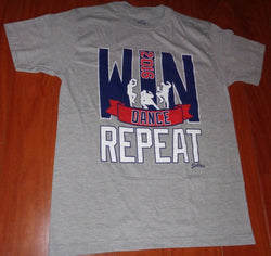 Boston 2016 Win Dance Repeat Red Sox Outfield Betts Bradley T Shirt Size Small