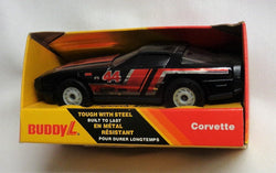 Vintage 1983 Buddy L Black Vett Corvette Race Car Boxed New