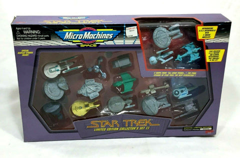 1993 Galoob Micro Machines Star Trek Limited Edition Set II Boxed Sealed FREESHP