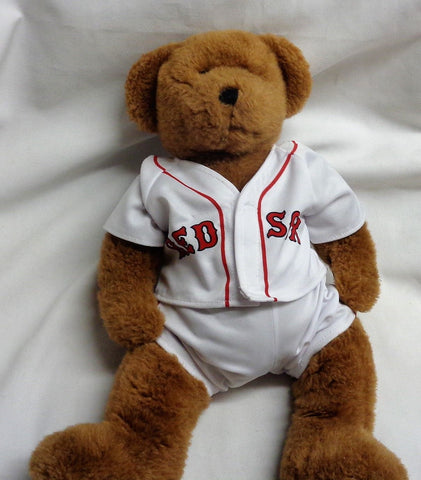 Fenway Park Boston Red Sox Build a Bear Teddy Bear & Jersey 10 Inch Size FREESHP