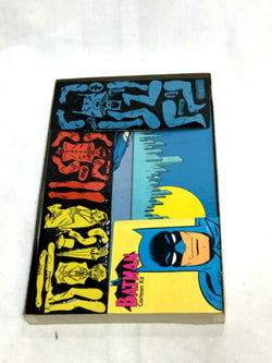 DC Comics 1966 Batman Colorforms Cartoon Kit Adhesive Complete Boxed RARE Mint