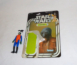Vintage 1979 Star Wars Walrus Man Figure Complete 21 Back Cardback FREESHIP
