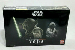 Bandai Star Wars ESB ROTJ Master Yoda Jedi Plastic Model Kit Sealed 1:12 Scale