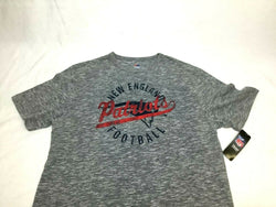 Majestic New England Patriots Distressed Faded Style T Shirt Mens Large FREESHIP