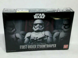 Bandai Star Wars First Order StormTrooper Plastic Model Kit Sealed 1:12 Scale