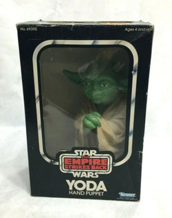 1980 Star Wars ESB Empire Strikes Back Yoda Hand Puppet Boxed Complete FREESHIP