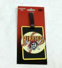MLB Pittsburgh Pirates Luggage Tag Travel Bag ID Golf Tag FREESHIP