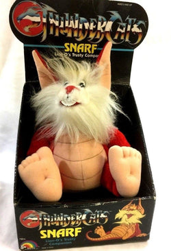 1986 LJN Toys Thundercats Snarf Lion-O's Trusty Companion Plush Doll Boxed New