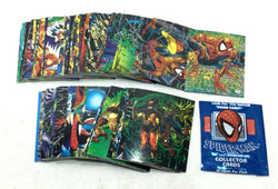 1992 Marvel SpiderMan McFarlane Era Complete Base Card Set 90 Count FREESHIP