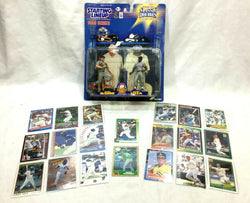 1998 SLU Starting Lineup Classic Doubles McGwire Sosa & Rookie Card Lot FREESHIP
