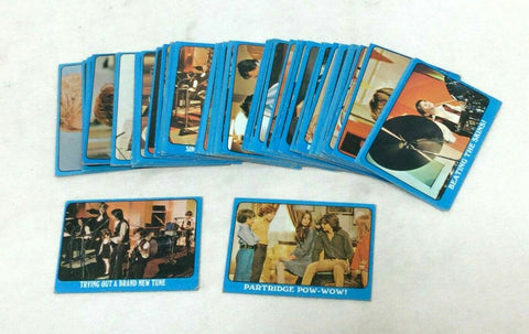 1971 Topps Partridge Family TV Show Complete Card Set Blue Series 2 FREESHIP