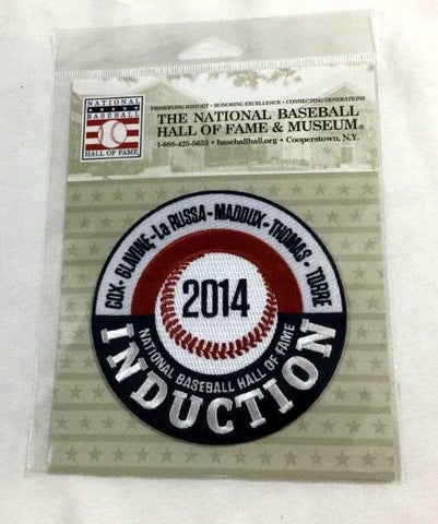 2014 Baseball Hall of Fame HOF Induction Patch Maddux Glavine Thomas Cox Torre