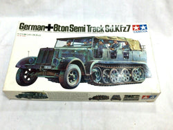 Tamiya WWII German 8ton Semi Track Sd.Kfz7 Half Track Motorized Model Kit 1/35