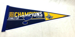 NHL 2019 Stanley Cup Champions St Louis Blues Pennant Trophy (R) FREESHIP