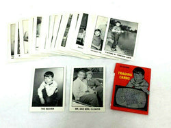 1983 Pacific TV Show Leaveit to Beaver Complete Card Set & Wax Wrapper FREESHIP
