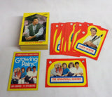 1988 Topps Tv Show Growing Pains Complete Trading Card & Sticker Set FREESHIP