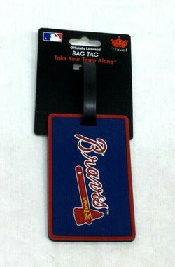 MLB Atlanta Braves Luggage Tag Travel Bag ID Golf Tag FREESHIP