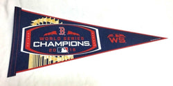 2018 World Series Champions Pennant Flag Boston Red Sox Trophy Style (RT)
