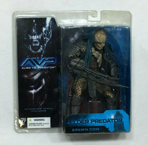 2004 McFarlane AVP Alien Vs Predator Alder Figure MOC Sealed MISB Boxed FREESHP