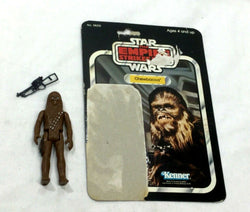 1980 Star Wars Empire Strikes Back Chewbacca Figure Complete 32 Cardback FREESHP
