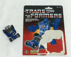 1985 G1 Transformers Beachcomber Complete with Cardback Uncut Mint FREESHIPPING