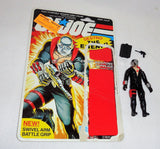 1983 Hasbro GI Joe ARAH Destro Figure Cardback Complete Peach Filecard FREESHIP