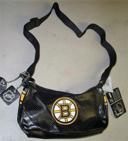 New NHL Boston Bruins Womens Girls Womens Helga Type Purse Hand Bag FREESHIP