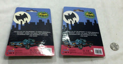 NEW DC Comics 1966 Tv Classic Batman & Robin Rubber Figure Keychain Lot FREESHIP