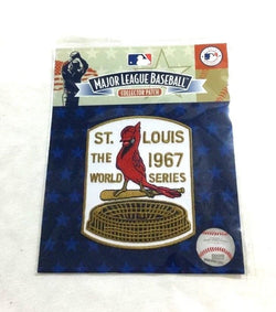 Official St Louis Cardinals 1967 World Series Champions Jersey Patch FREESHIP