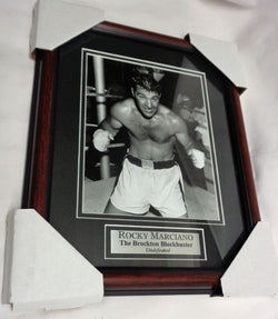 World Champion Boxing Legend Rocky Marciano Framed Picture 13x16 FREESHIP