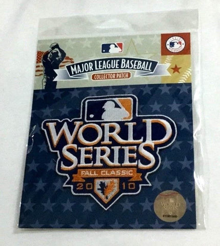 2010 World Series Jersey Patch San Francisco Giants Texas Rangers FREESP